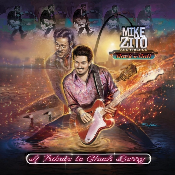 Mike Zito Rock 'n' Roll: A Tribute to Chuck Berry Cover Art