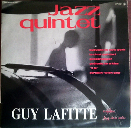 Guy Lafitte Jazz Quintet Cover Art