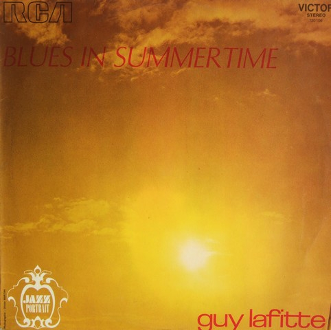Guy Lafitte Blues in Summertime Cover Art
