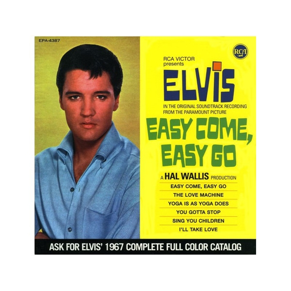 Elvis Presley Easy Come Easy Go cover art