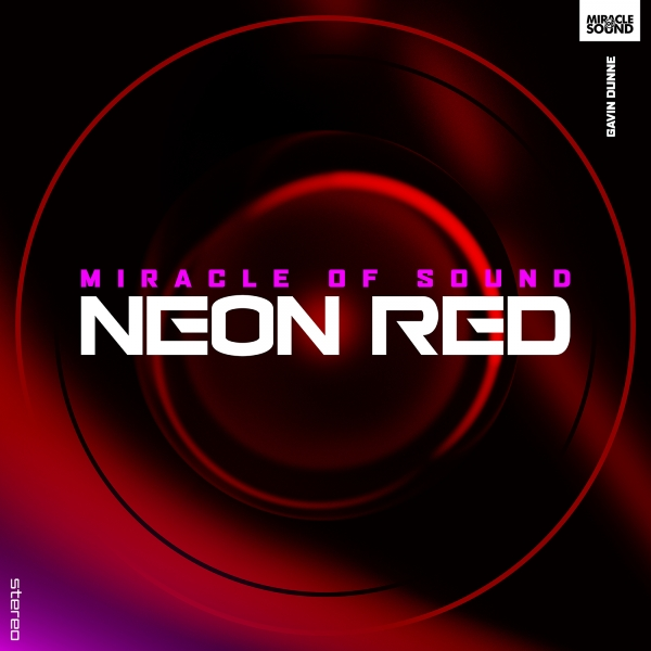 Miracle of Sound Neon Red Cover Art