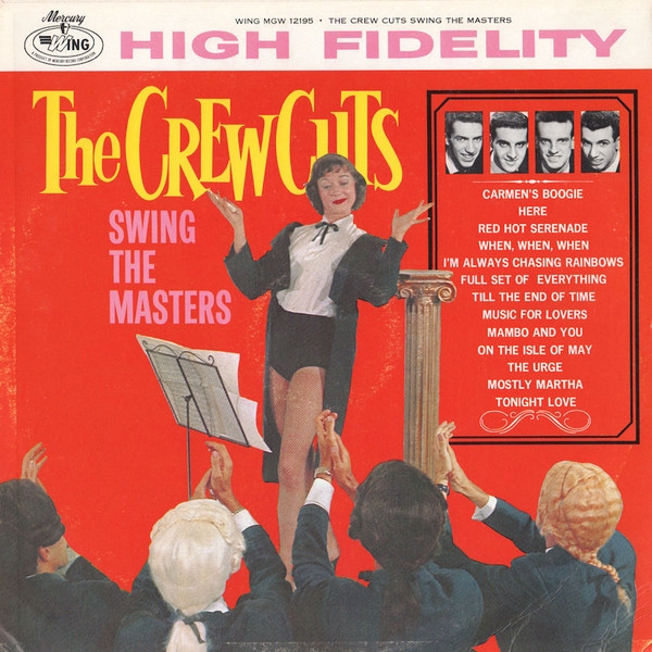 The Crew Cuts The Crewcuts Swing the Masters Cover Art