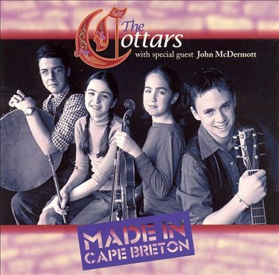 The Cottars Made in Cape Breton cover art