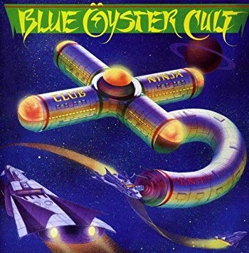 Blue Öyster Cult Club Ninja Cover Art