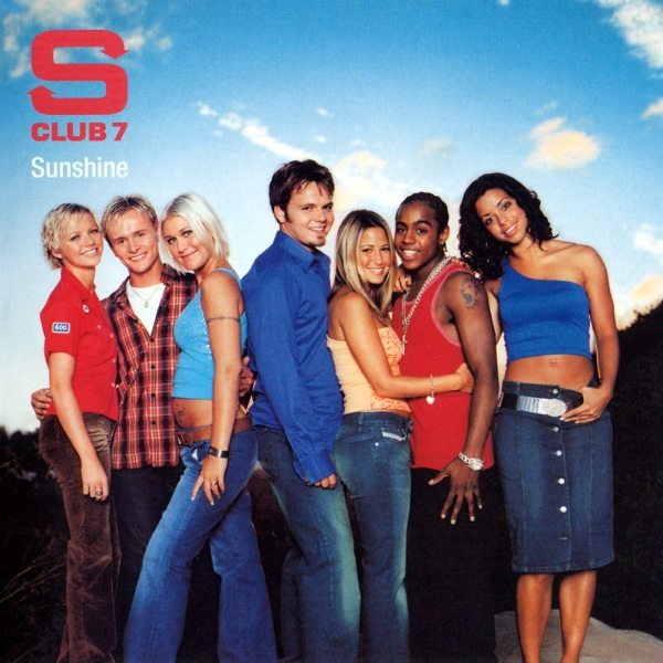 S Club 7 Sunshine cover art
