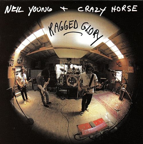 Neil Young & Crazy Horse Ragged Glory Cover Art