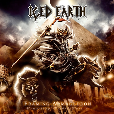 Iced Earth Framing Armageddon: Something Wicked, Part 1 cover art