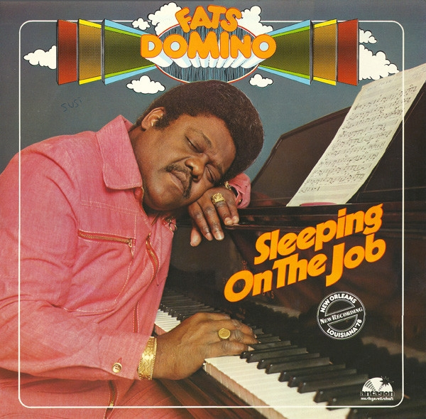 Fats Domino Sleeping on the Job Cover Art