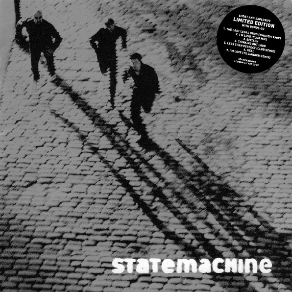 Statemachine Short and Explosive Cover Art