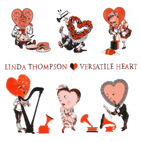 Linda Thompson Versatile Heart Cover Art