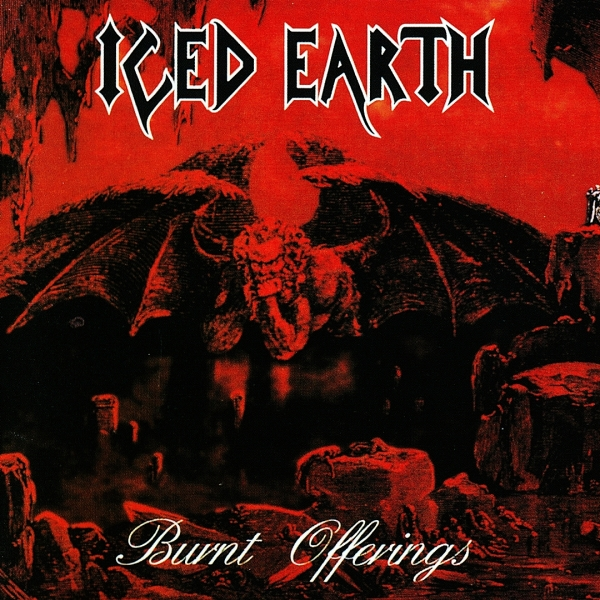 Iced Earth Burnt Offerings cover art
