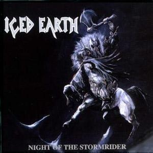 Iced Earth Night of the Stormrider cover art
