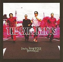 The Exponents Hello, Love You, Goodbye cover art
