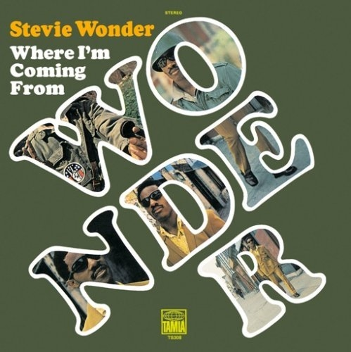 Stevie Wonder Where I'm Coming From cover art