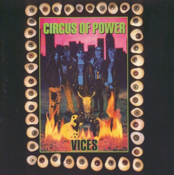 Circus of Power Vices cover art