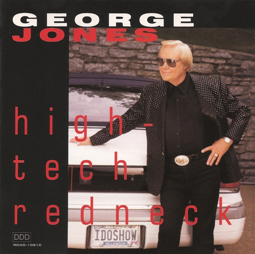 George Jones High-Tech Redneck cover art