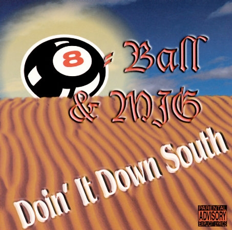 8Ball & MJG Doin' It Down South Cover Art