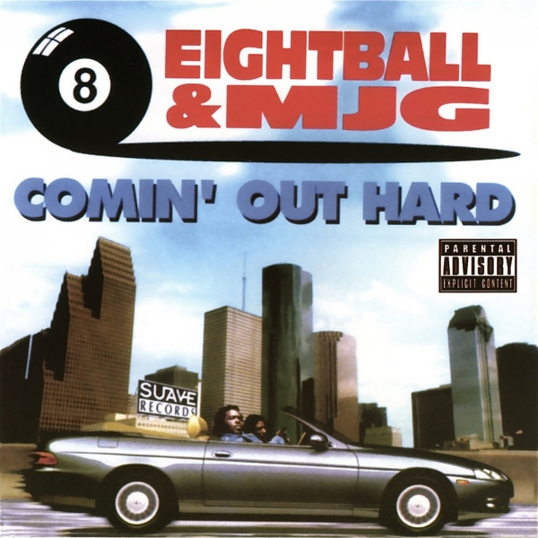 8Ball & MJG Comin' Out Hard cover art