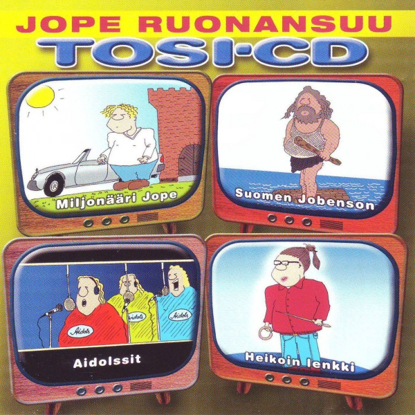 Jope Ruonansuu Tosi-CD cover art