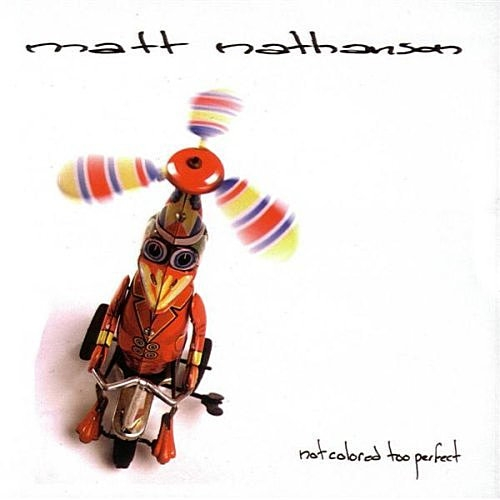Matt Nathanson Not Colored Too Perfect Cover Art