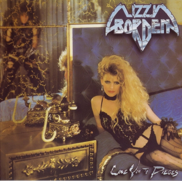Lizzy Borden Love You to Pieces cover art