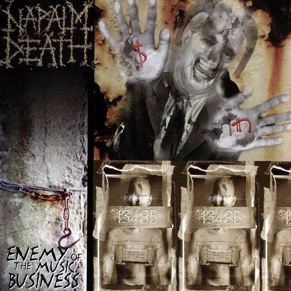 Napalm Death Enemy of the Music Business cover art