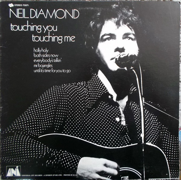 Neil Diamond Touching You, Touching Me cover art