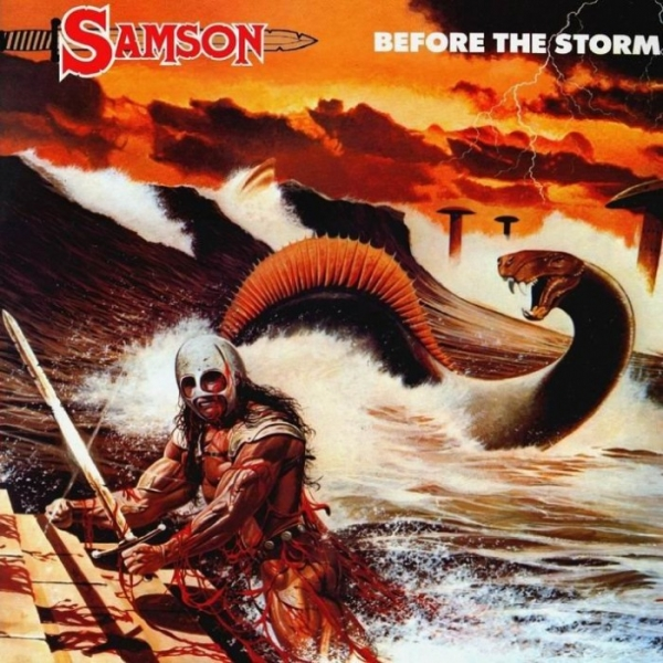 Samson Before the Storm Cover Art