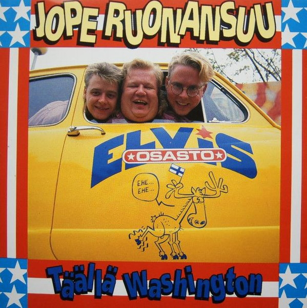 Jope Ruonansuu Täällä Washington cover art