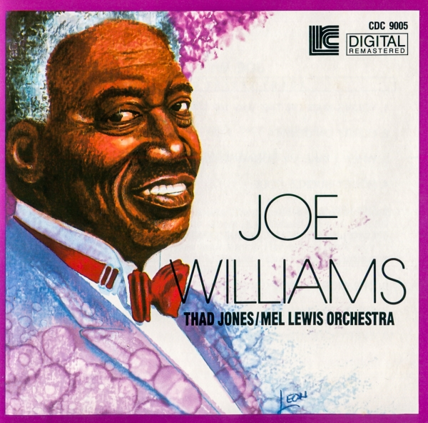 Thad Jones/Mel Lewis Orchestra Joe Williams With Thad Jones / Mel Lewis Orchestra cover art