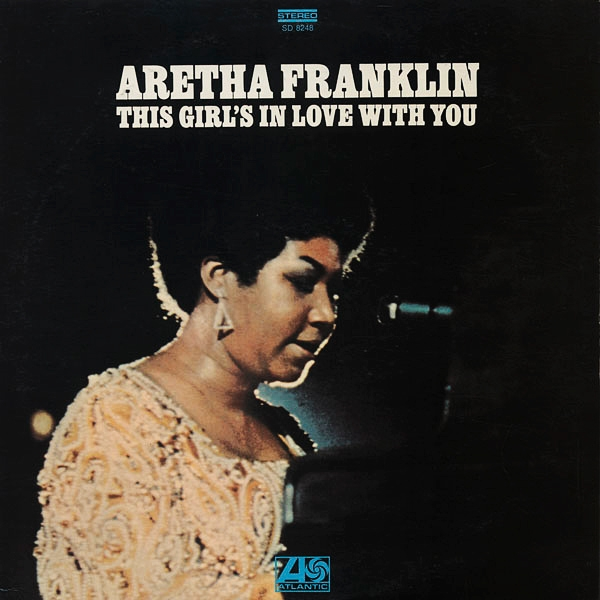 Aretha Franklin This Girl's in Love With You cover art