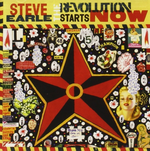 Steve Earle The Revolution Starts Now cover art