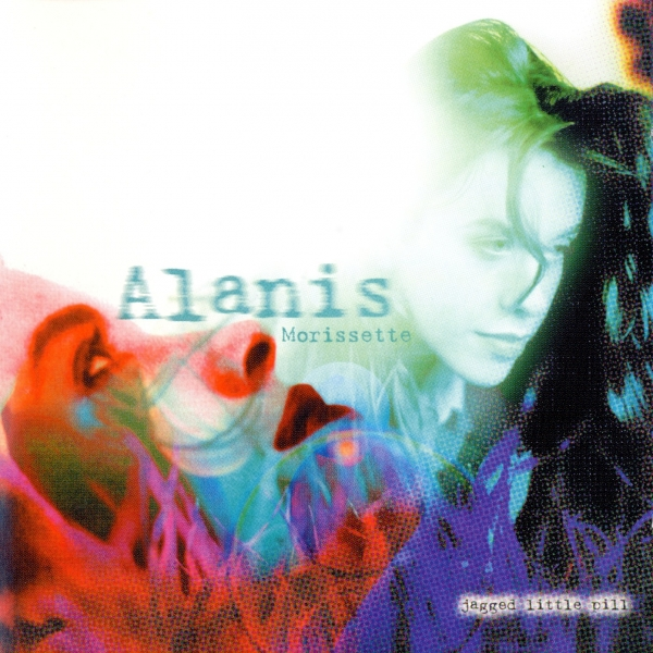 Alanis Morissette Jagged Little Pill cover art