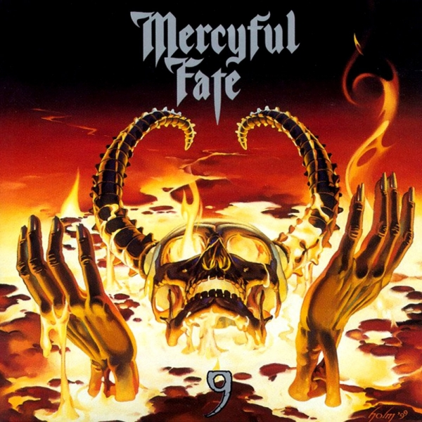Mercyful Fate 9 Cover Art