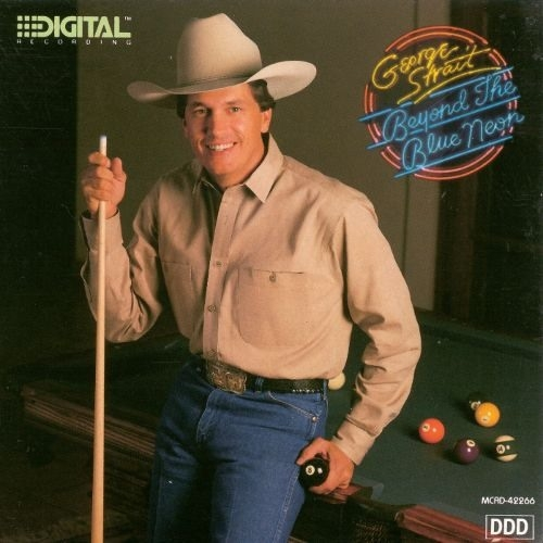 George Strait Beyond the Blue Neon Cover Art