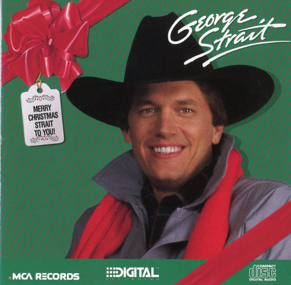 George Strait Merry Christmas Strait to You cover art