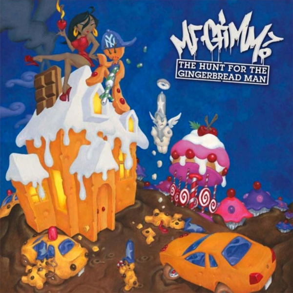 MF Grimm The Hunt for the Gingerbread Man cover art