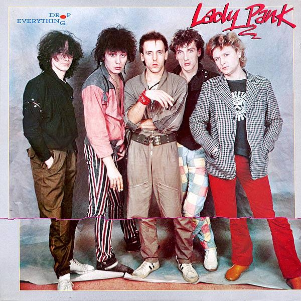 Lady Pank Drop Everything cover art