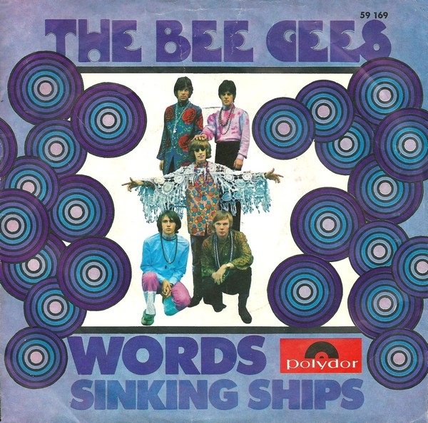 Bee Gees Words / Sinking Ships cover art