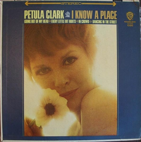 Petula Clark I Know a Place cover art