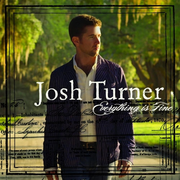 Josh Turner Everything Is Fine cover art