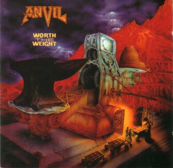 Anvil Worth the Weight cover art