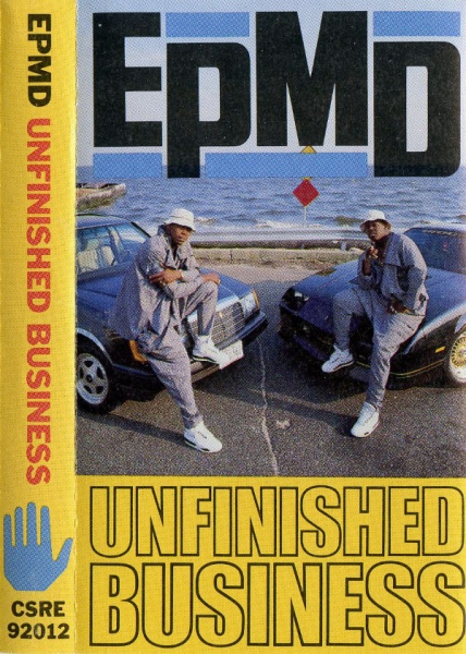 EPMD Unfinished Business cover art