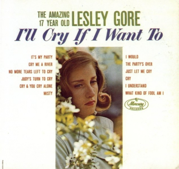 Lesley Gore I'll Cry If I Want To cover art