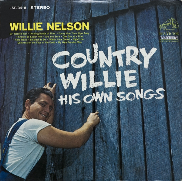 Willie Nelson Country Willie: His Own Songs cover art