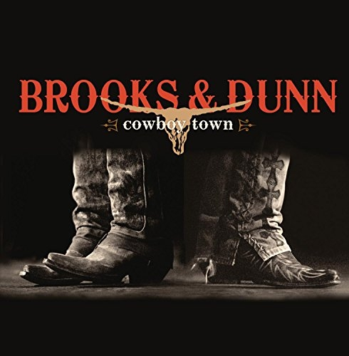 Brooks & Dunn Cowboy Town cover art