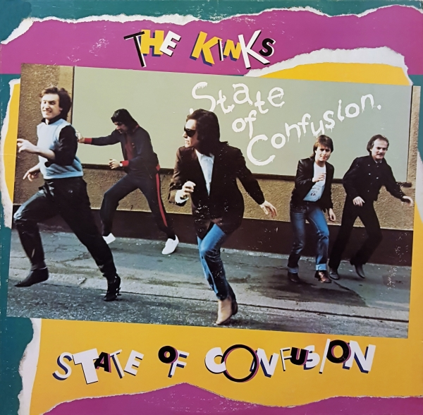 The Kinks State of Confusion cover art