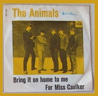The Animals Bring It on Home to Me / For Miss Caulker cover art