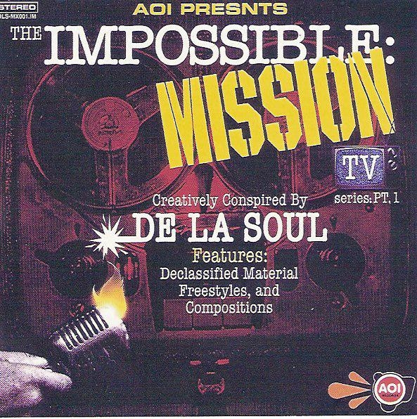 De La Soul The Impossible: Mission TV Series, Part 1 cover art