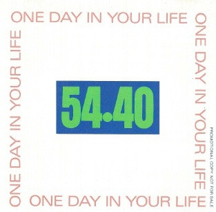 54-40 One Day in Your Life Cover Art